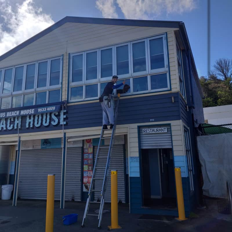 commercial window cleaning hampton