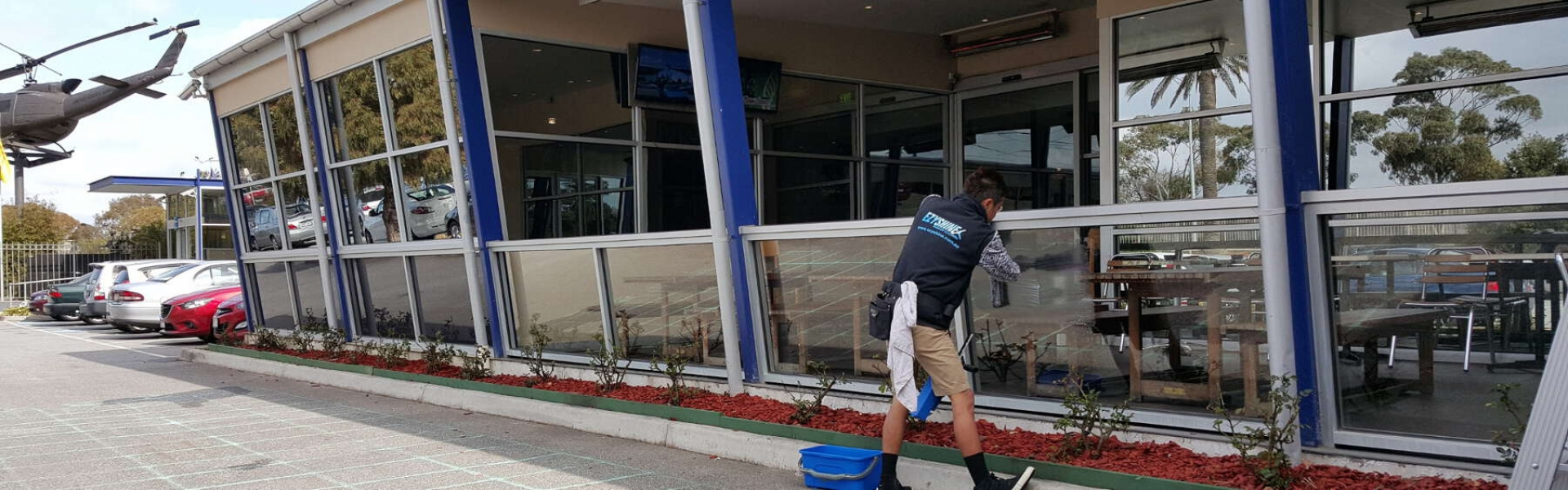 Dandenong RSL commercial window cleaning
